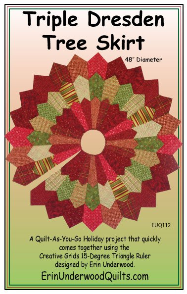 Triple Dresden Tree Skirt
