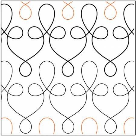 Paper Pantograph 5in Filigree