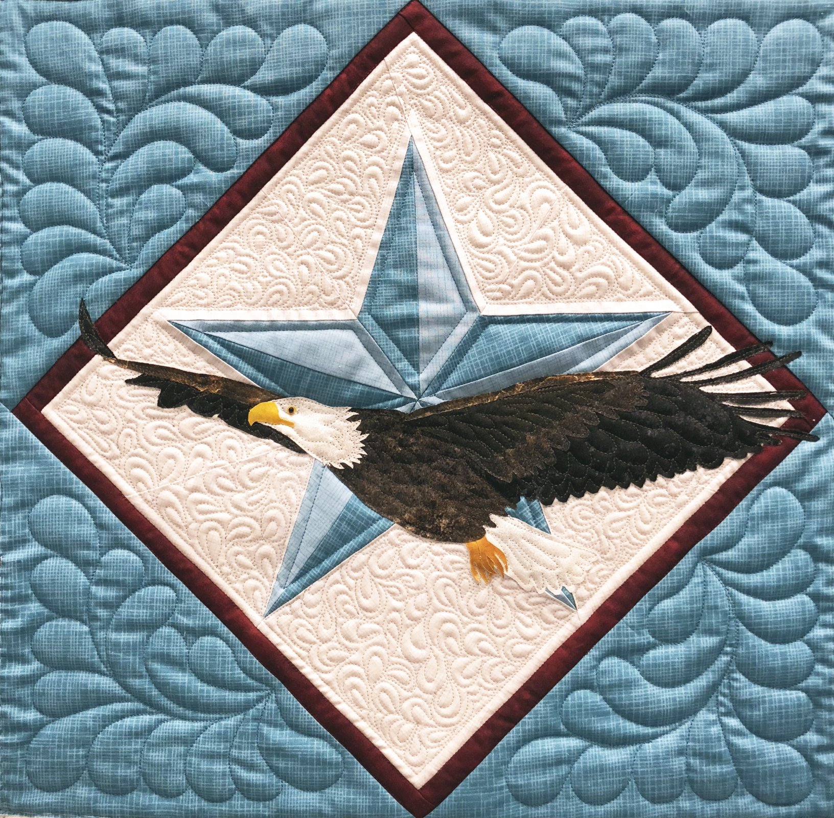 Bald Eagle Wall hanging Kit