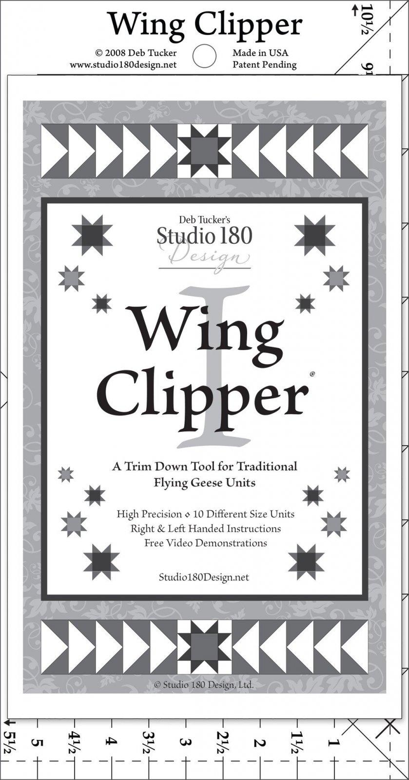 Wing Clipper I Ruler