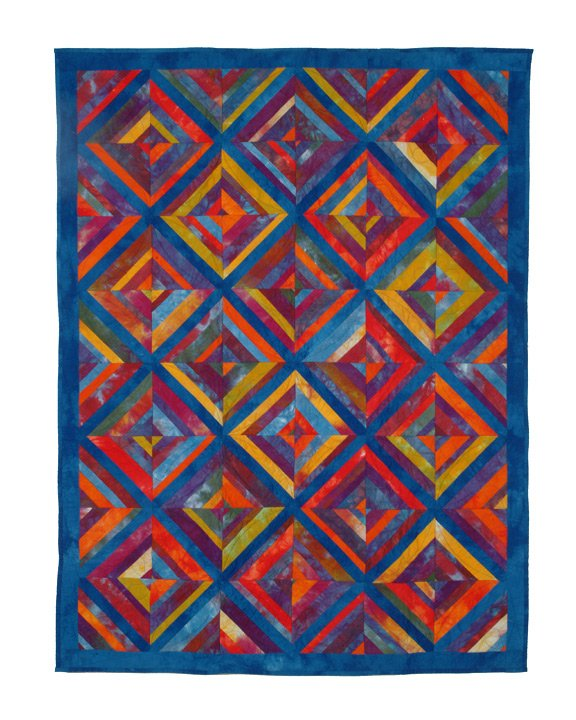 Rainbow Strings Quilt