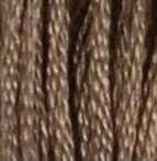 08 Dark Driftwood DMC Embroidery Floss