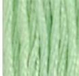 13 Medium Light Nile Green DMC Embroidery Floss