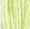 14 Pale Apple Green DMC Embroidery Floss