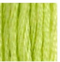 16 Light Chartreuse DMC Embroidery Floss