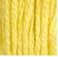 17 Light Yellow Plum DMC Embroidery Floss