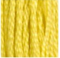 18 Yellow Plum DMC Embroidery Floss