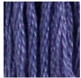 32 Dark Blueberry DMC Embroidery Floss