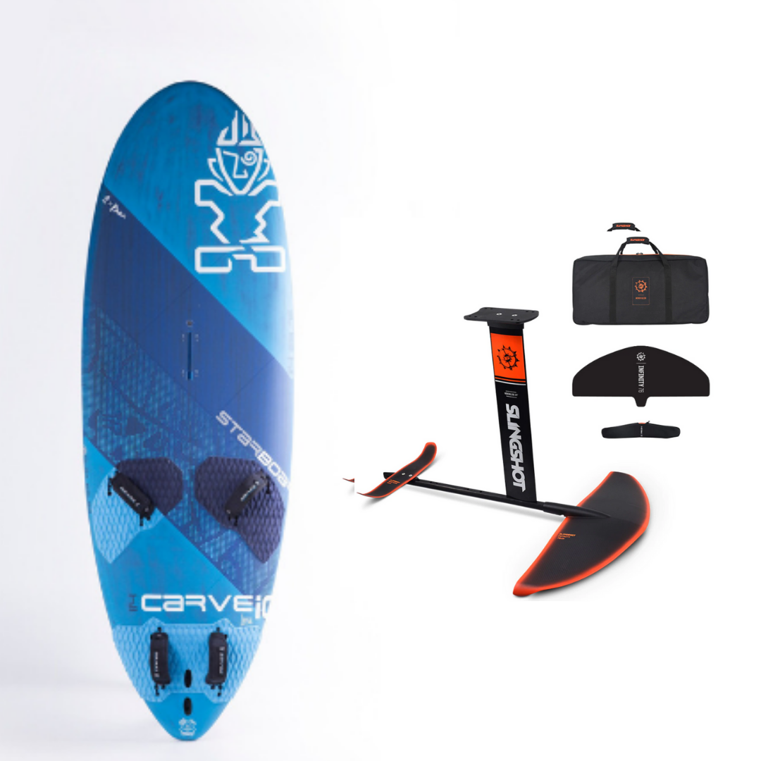 Starboard Carve IQ Flax Balsa Foil Package