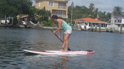 stand up on paddleboard