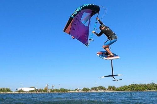 learn to windsurf foil