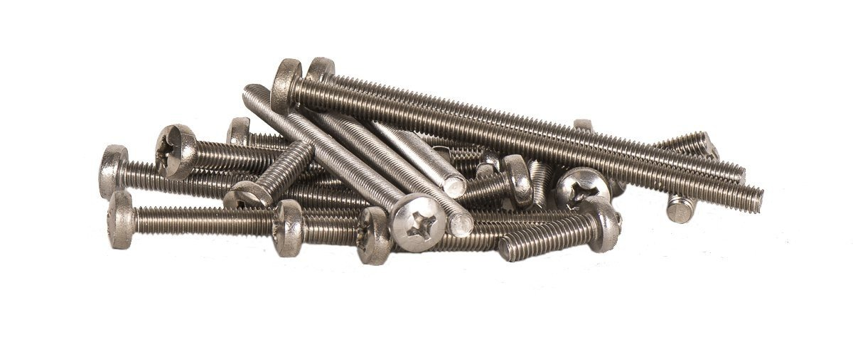 1l4  20 stainless steel fin screw
