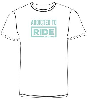 Addicted to Ride Girls SS Tee