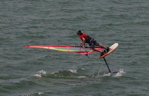 advanced windsurf foil lesson