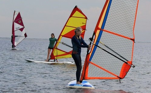 learn to windsurf clinic