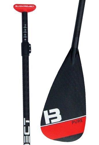 Black Project Pure 50% Carbon Adj. SUP Paddle