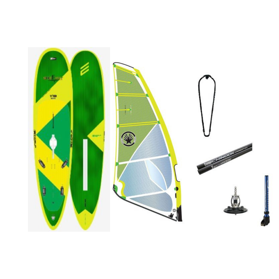 Exocet WindSUP 11'8 Pro-Am w/ Ezzy legacy Rig