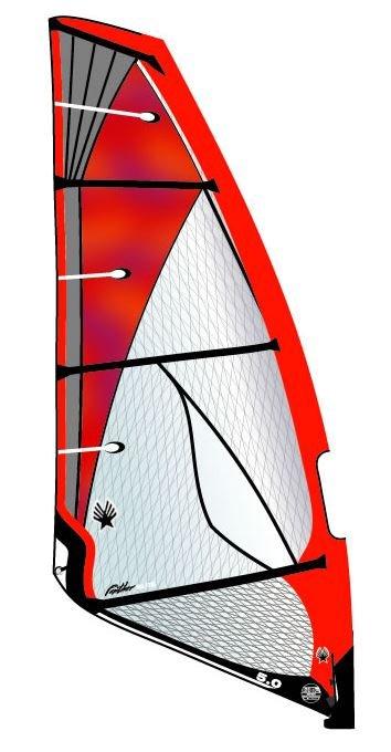 Ezzy Panther Elite Windsurf Sail