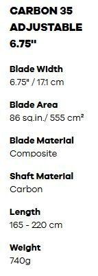 diamond sup paddle dimensions