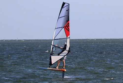 wind foil lesson