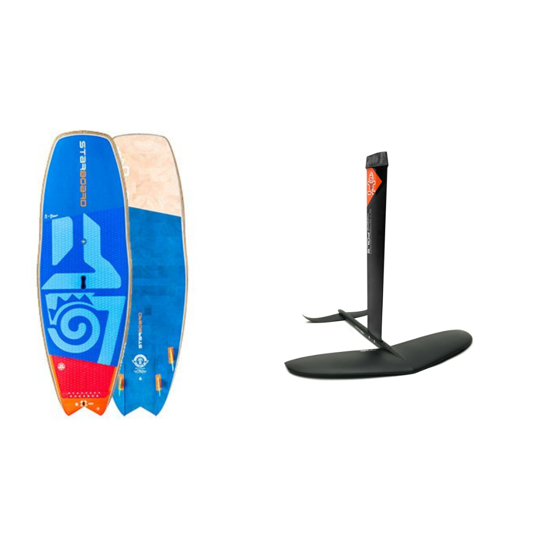 Starboard Hypernut 4 in 1 Foil Package (Blue Carbon Board)