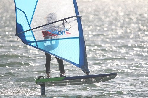 all about windsurfing foiling