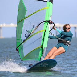 windsurfer and co-owner of North Beach