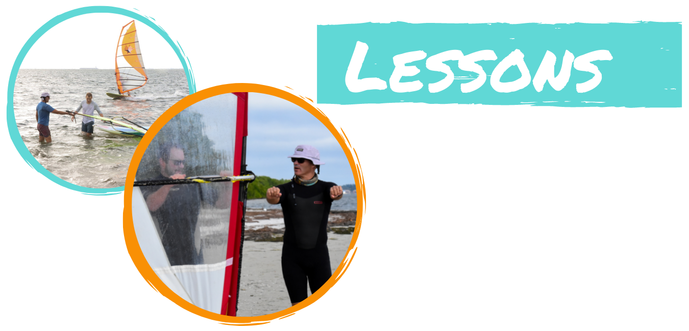 windsurf lessons page