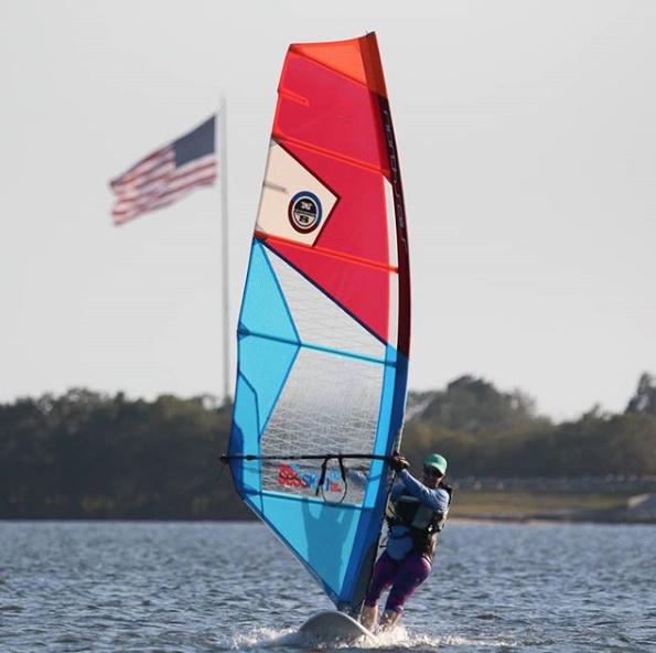 windsurfing in st pete beach near fort desoto