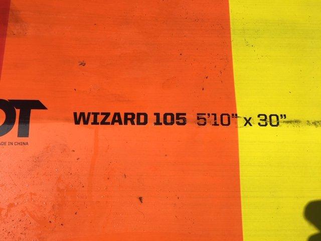 Slingshot Wizard 105 Used (2019)