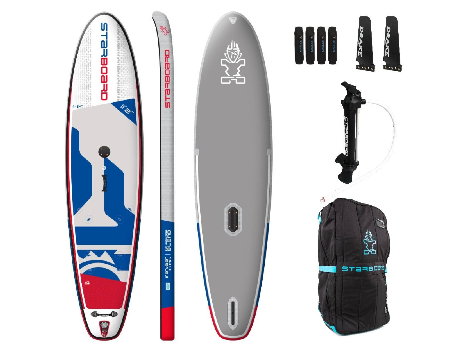 Starboard Inflatable 11'2 Blend Deluxe Windsup (2020)