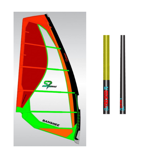 S2 Maui Banshee Sail and Mast Package