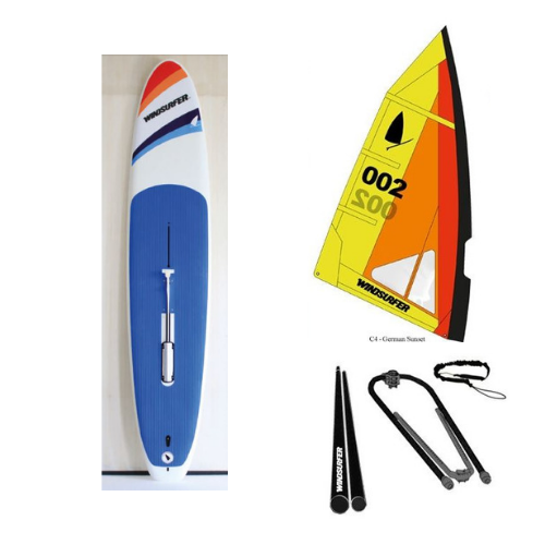 Windsurfer LT Race w/Windsurfer Sail and Rig Package