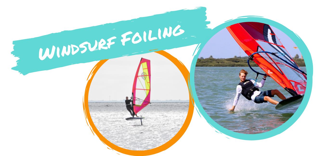 windsurf foiling in tampa