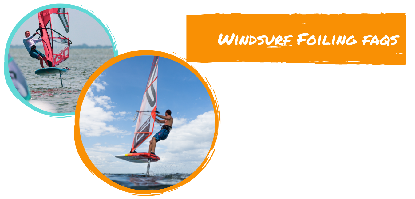 windsurf foiling frequently asked questions