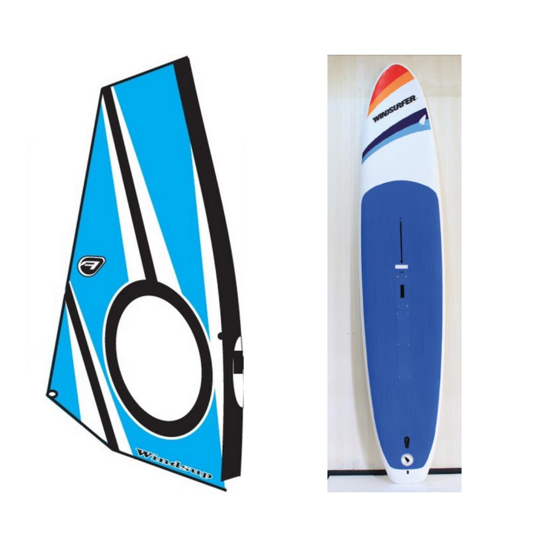 Windsurfer LT Flatdeck w/Aerotech Wind/SUP Rig Package