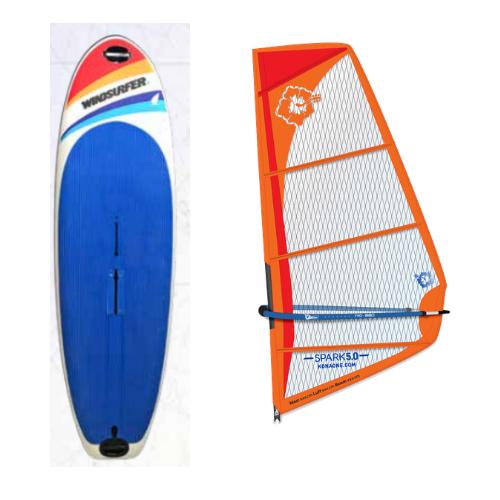 Windsurfer LT School w/ Spark Rig Package