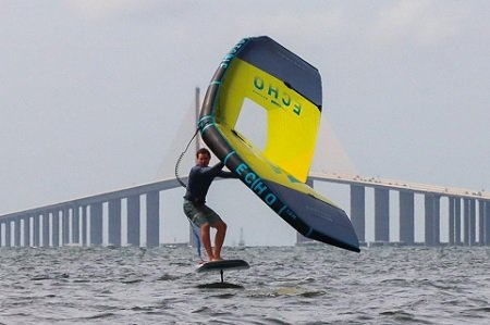 wing foiling skyway