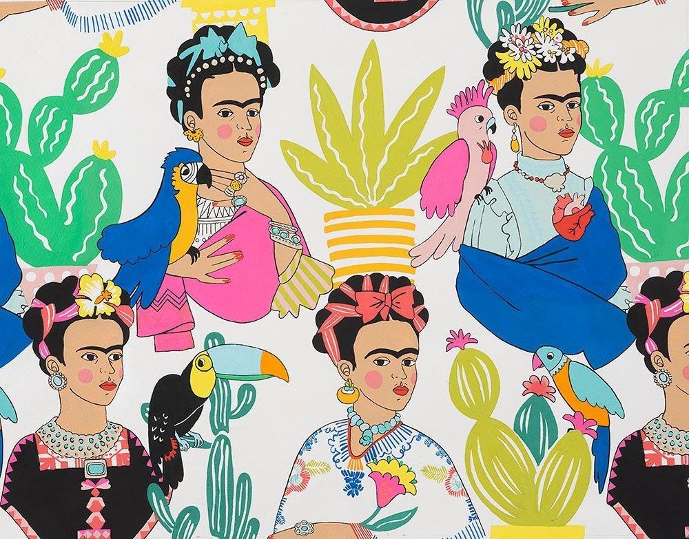 Alexander Henry - Folklorico - A Frida Con Las Plumas DE#8857