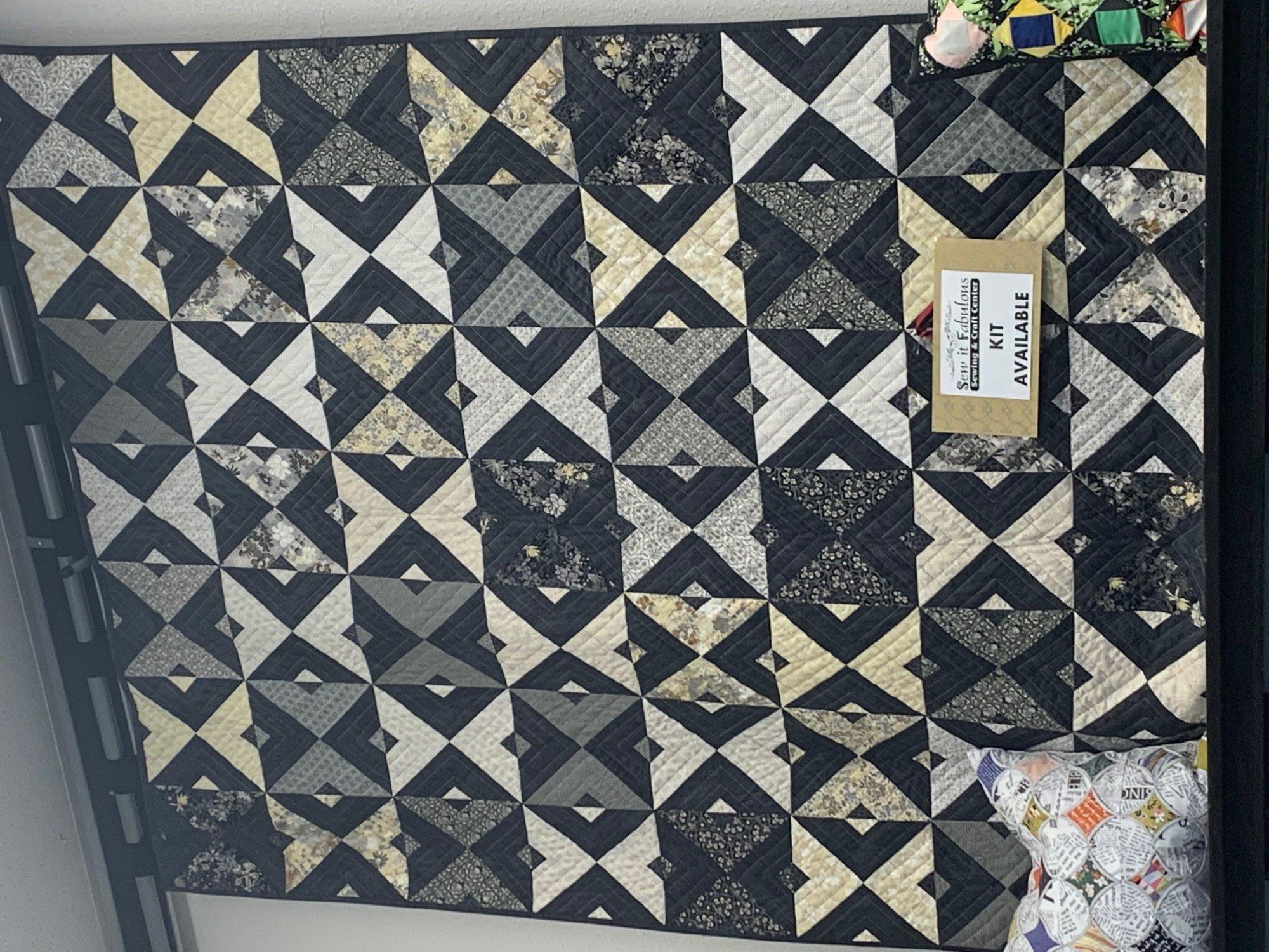 Double Dutch quilt, 65.25 x 74.5