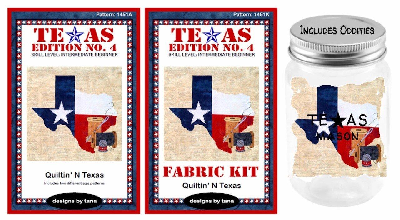 Texas Edition No. 4 BOM,  Quiltin' N Texas -- Designs by Tana--Sign-Up Fee