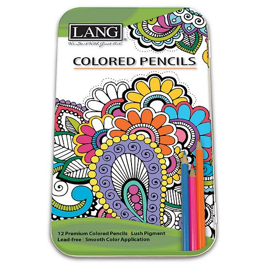 Lang Colored Pencils - 12