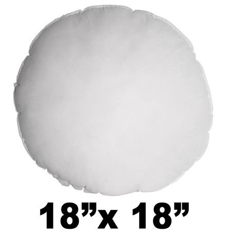 Pillow Form 18 inch round, 100% Polyester
