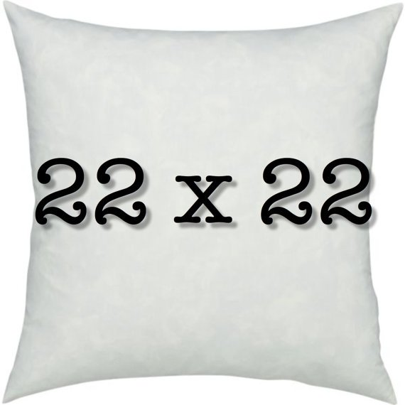 Pillow Form 22 x 22 - 100% Polyester