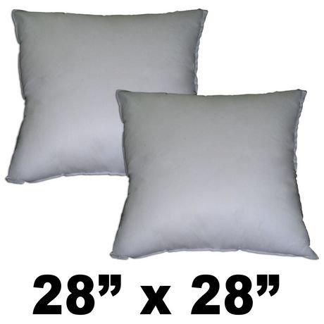 Pillow Form 28 x 28- 100% Polyester
