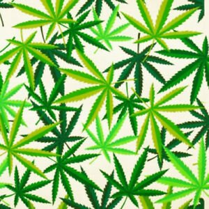 Alexander Henry Marijuana Leaves 8308A
