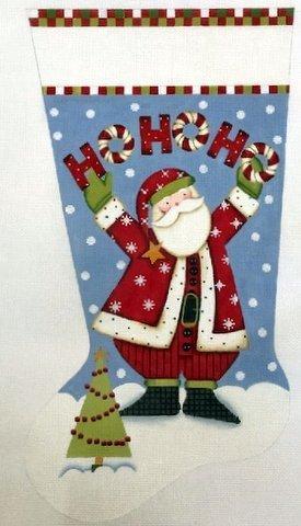 Ho Ho Ho santa sock