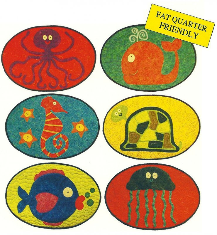 #154: Underwater Friends Placemats