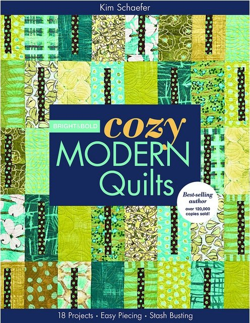 Bright and Bold Cozy Modern Quilts