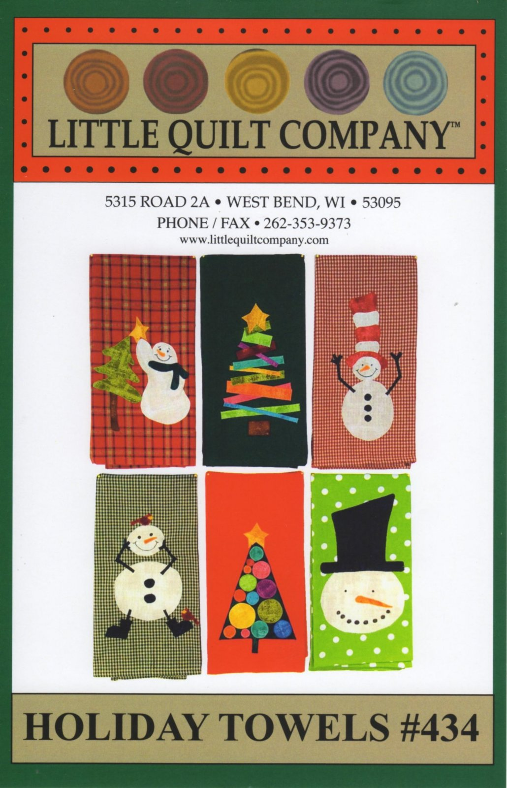 #434 Holiday Towels